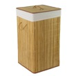 Laundry Hamper Made of Cotton and Polyester and Bamboo BA38-35
