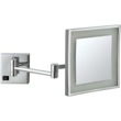 Square Wall Mounted LED 3x Makeup Mirror AR7701