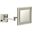 Satin Nickel Square Wall Mounted LED 3x Makeup Mirror AR7701-SNI