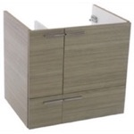 Vanity Cabinet, ACF L415LC, 23 Inch Wall Mount Larch Canapa Bathroom Vanity Cabinet