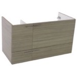 Vanity Cabinet, ACF L419LC, 39 Inch Wall Mount Larch Canapa Bathroom Vanity Cabinet