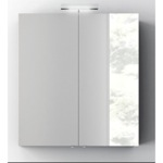 Medicine Cabinet, ACF S727, Wall Mounted 28 Inch Medicine Cabinet with Mirror and 2 Doors