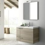 Bathroom Vanity, ACF ANS02, 31 Inch Bathroom Vanity Set
