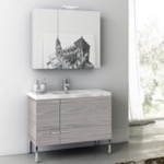 Bathroom Vanity, ACF ANS15, 39 Inch Bathroom Vanity Set