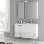 Bathroom Vanity, ACF ANS26, 39 Inch Bathroom Vanity Set