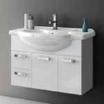 Bathroom Vanity, ACF PH08, 32 Inch Vanity Cabinet With Fitted Sink