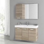 Bathroom Vanity, ACF C86, 39 Inch Larch Canapa Bathroom Vanity Set