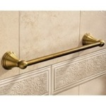 Classic-Style Bronze 18 Inch Towel Bar