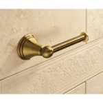 Classic-Style Bronze Toilet Roll Holder