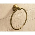 Classic-Style Bronze Towel Ring