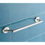 Contemporary Chrome 18 inch Towel Bar