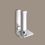 Polished Chrome Vertical Toilet Paper Holder