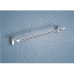 Two Tone Chrome 18 Inch Towel Bar