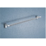 24 Inch Towel Bar With Two Tone Chrome Mounting