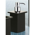 Square Moka Porcelain Soap Dispenser