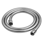 Flexible 59 Inch Hose In PVC Silver