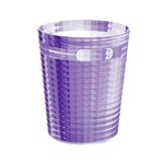 Free Standing Waste Basket Without Cover in Lilac Finish
