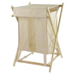 Beige Laundry Basket