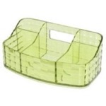 Make-up Tray Made From Thermoplastic Resin With Acid Green Finish