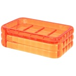 Decorative Orange Soap Holder GL11-67