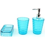 3 Piece Accessory Set in Turquoise GL200-92