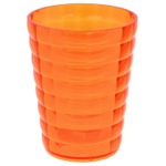 Round Orange Toothbrush Holder GL98-67