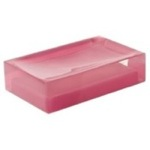 Decorative Pink Soap Holder