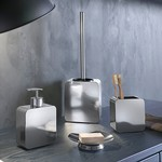 Chrome Four Piece Bathroom Accessory Set