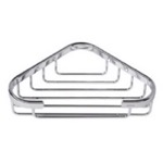 Chrome Corner Shower Wire Sponge or Soap Holder 144
