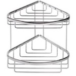 Chrome 2 Tier (Double) Shower Basket