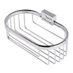 Chrome Wire Bottle or Sponge Holder/Basket 7014