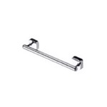 Round Wall Mounted Chrome Grab Bar