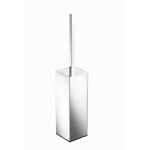Rectangle Free Standing Chrome Toilet Brush