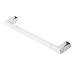 20 Inch Round Wall Mounted Chrome Towel Bar