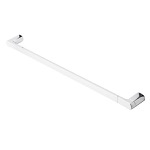 33 Inch Wall Mounted Chrome Towel Bar