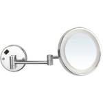 Makeup Mirror, Nameeks AR7703, Round Wall Mounted Magnifying Mirror with LED, Hardwired