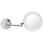 Makeup Mirror, Nameeks AR7706, Round Wall Mounted 3x Makeup Mirror with LED, Hardwired