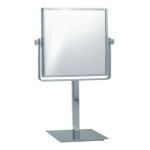 Makeup Mirror, Nameeks AR7717, Square Double Sided 3x Makeup Mirror