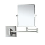 Makeup Mirror, Nameeks AR7721-CR-5x, Double Face 5x Wall Mounted Magnifying Mirror