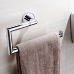 Modern Chrome Towel Ring