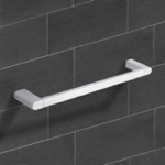 Towel Bar, Nameeks NCB08, 20 Inch Polished Chrome Towel Bar