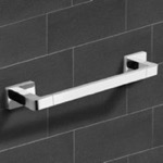 Towel Bar, Nameeks NCB14, 17 Inch Modern Chrome Towel Bar