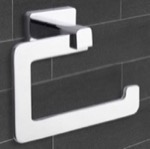 Toilet Paper Holder, Nameeks NCB17, Modern Chrome Toilet Paper Holder
