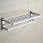 Polished Chrome Towel Rack