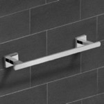 Towel Bar, Nameeks NCB-6000, Polished Chrome Towel Bar