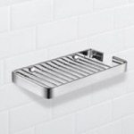 Shower Basket, Nameeks NFA030, Wall Mounted Chrome Wire Shower Basket