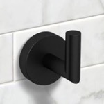 Matte Black Bathroom Hook
