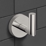 Bathroom Hook, Nameeks NNBL0029, Satin Nickel Bathroom Hook