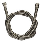 Satin Nickel Flexible Shower Hose