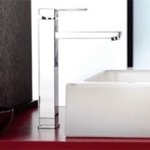 Chrome Single Handle Vessel Sink Faucet